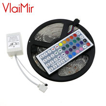 Best price 5050 RGB LED strip 60leds/m 300LEDs 5M SMD waterproof flexible neon lampen RGB White Cool Warm white Blue color tape(China)