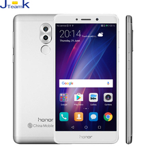 Original Huawei Honor 6X Global Firmware Dual Rear Camera 12MP*2 4G mobile phone Octa core 5.5 inch 1920*1080pix FingerPrint