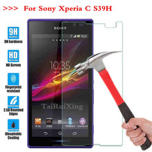 Buy Screen Protector Tempered Glass Sony Xperia C S39h 2305 C2304 C2305 S39 2.5D Phone 9 H Premium Protective Film Case Guard for $1.19 in AliExpress store