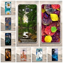 Luxury 3D Relief Painting Case for Lenovo A5000 Phone Case Soft TPU Silicone Cases For Lenovo A5000 A 5000 Silicon Covers Bags