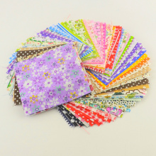 30 pieces/lot  10cmx10cm charm pack cotton fabric patchwork bundle fabrics DIY tecido quilting for cloth sewing
