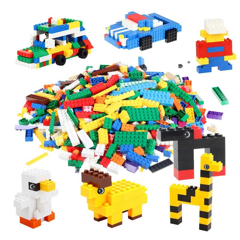 Hot 800Pcs Building Blocks DIY Creative Bricks Toys For Children Kids Educational Bricks Compatible with major brand blocks <br><br>Aliexpress