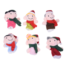 MACH Finger Puppet/Dolls/Toys Story-telling Props/Tools Toy Model Babies/Kids/Children Toys(China)