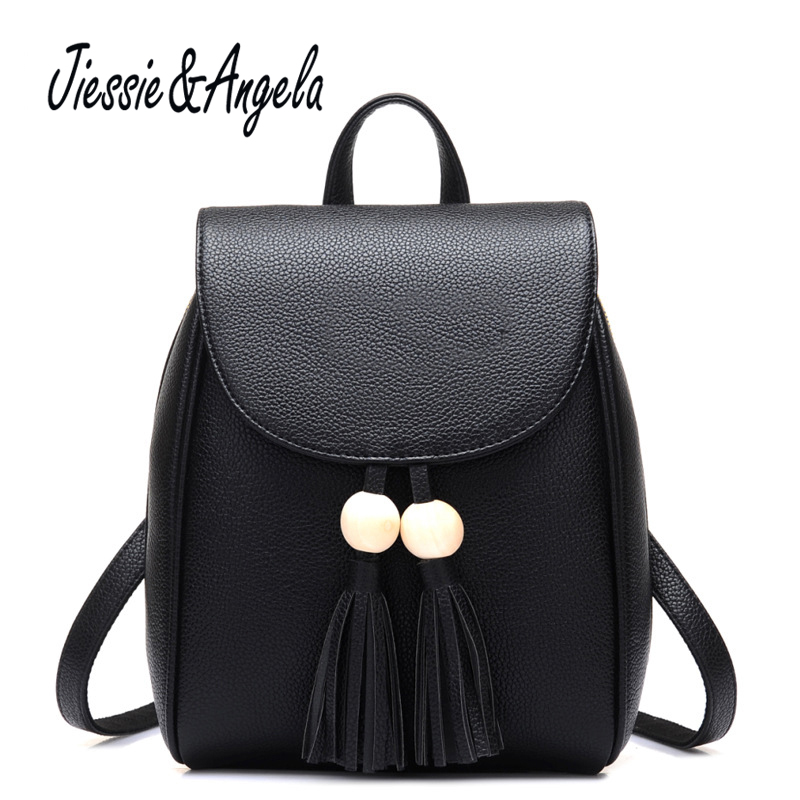 Jiessie &amp; Angela Fashion Women backpack teenage girls casual school campus bag vintage backpacks women travel backpack female<br>