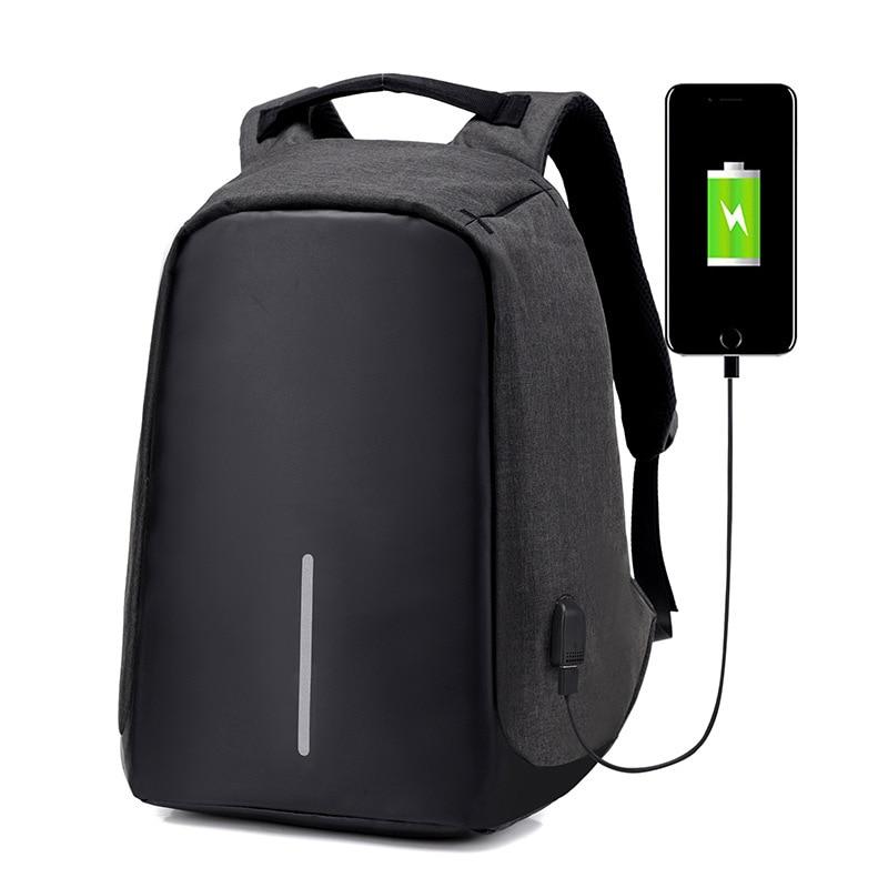 Swisswin usb anti-theft Waterproof Laptop Backpack Travel PC Computer Backpack for Air Pro Men Women Laptop Bag<br>