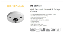 Buy Free DAHUA Security IP Camera 6MP Panoramic Network IR Fisheye Camera IP67 IK10 Without Logo IPC-EBW8630 for $396.68 in AliExpress store