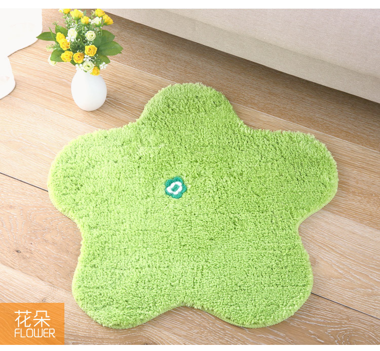 Elegant Cartoon Corridor Carpet Home Decoration Kids Mats Bath Rugs Various  Color(China (Mainland