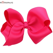 ROMIRUS Modern 2017 Baby Girl Hair Accessories Bowknot Hair Clips Toddle Infant Hair Barrette Hair Pins Photography Props bb E49