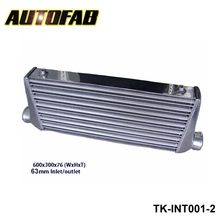 AUTOFAB - (Have in stock) Intercooler (600*300*76 mm) OD:63mm AF-INT001-2(China)