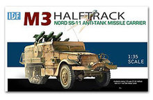 1/35 scale model Dragon 3579 Israel M3 semi-track SS.11 anti-tank missile launcher(China)
