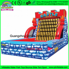 Jumping balloons inflatable stick velcro wall with suit,bouncy castles inflatable velcro wall,climbing holds stick castle