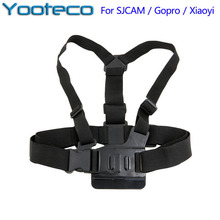 For GoPro Accessories Strap Harness Adjustable Elastic Chest Belt For Hero 5 4 3 2 1 SJCAM SJ4000 SJ5000 Eken H9 Xiaomi Yi Cam(China)
