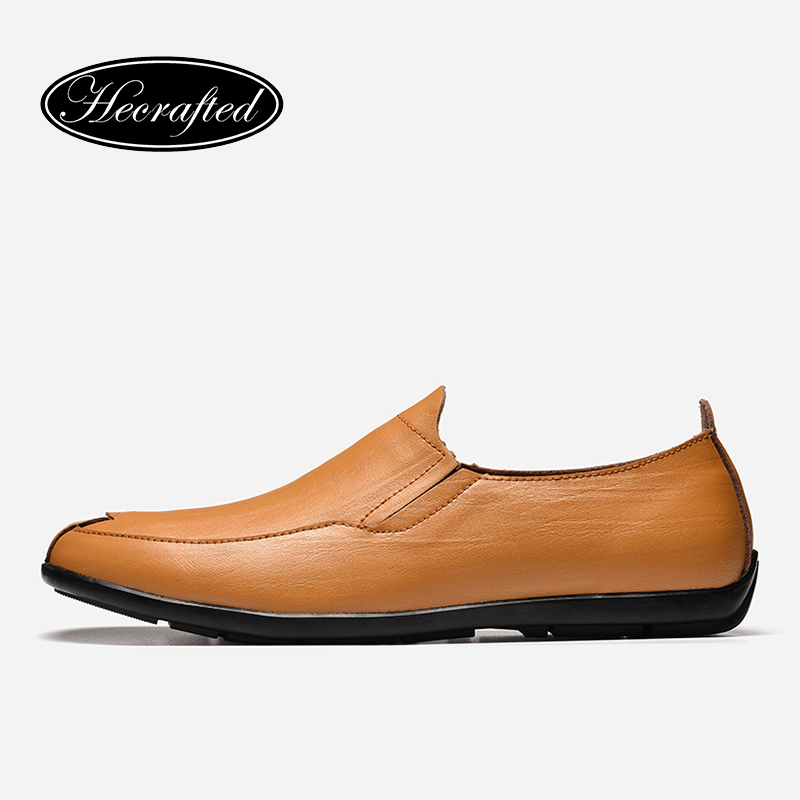 36-47 men shoes cow split HECRAFTED 2018 fashion handmade men loafers #LS2017<br>