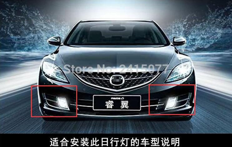 For Mazda 6 zoom-zoom evolution 2010-2012 Dimming style relay 12V LED DRL daytime running lights<br><br>Aliexpress