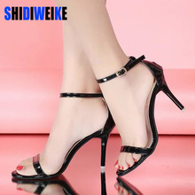 New Arrival Hot-selling Summer shoes Peep Toe Sweet Fashion Women's Sandals Thin Heel Pumps Princess High Heels Women Shoes