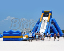 Giant Inflatable Water Slide Big Water Slide Beach Inflatable Water Slide