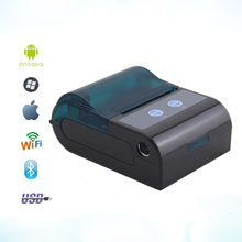 Portable 58mm Thermal Bluetooth Printer Wifi Wireless Receipt Printer Bill RS232 USB / Serial Port For Windows Android POS