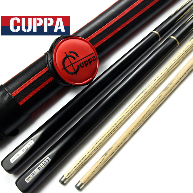 High Quality Cuppa Red 3/4 Snooker Cue Case Set Snooker Cues 9.8mm/11.5mm Tips China(China (Mainland))