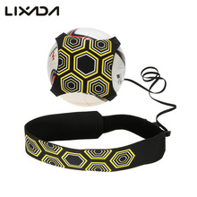 Lixada Solo Soccer Ball Practice Belt Football Kick Trainer Sport Assistance 94cm Adjustable Soccer Trainer Training Equipment(China)