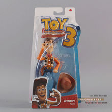 "Free Shipping Toy Story 3 Woody PVC Action Figure Toy Doll 7""18CM Chritmas Gift DSFG012"