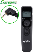 Godox Digital Timer Remote UTR-C1/C3/N1/N3/S1 with LCD Panel illuminated Replaceable Cable Shutter Release Controller For Camera(China)