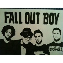 J0540- Fall Out Boy -Rock Band Pop 14x21 24x36 Inches Silk Art Poster Top Fabric Print Home Wall Decor(China)