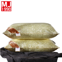 Silk Pillow Neck Comfort Neck Pillow Slow Rebound Soft Sleeper Bedding Neck Fatigue Relief 48x74cm 1PC(China)