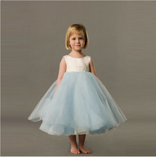 2016 Puffy Ball Gown Flower Girl Dresses Delicate Tulle Cap Sleeve Scoop Neckline Cheap Price Lovely Little Girls Pageant Gowns