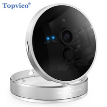 Topvico Cube IP Camera Wifi 720P 1.0 MP HD ONVIF P2P Plug Play Wireless Infrared Video Surveillance Cam HOME Security Camera(China)