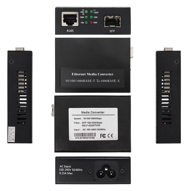 100Base-FX - 1000Base-X - - 800