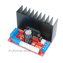 HIFI TDA7388 4 channels home amplifier board Car Audio Amplifier Board 4X41W upport stereo surround sound