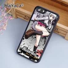 MaiYaCa Anime High School DxD Toujou Koneko fashion soft mobile cell Phone Case Cover For iPhone 7 Plus Custom DIY cases luxury(China)