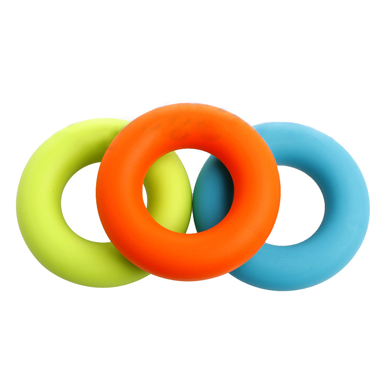 7cm Grip Hand Forearm Grip Ring Muscle Power Training Rubber Ring Exerciser Gym 30-50g Weights Strength Gripper Finger Ring