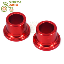 CNC Billet Aluminum Red Rear Wheel Hub Spacer Kit For Honda CRF250L CRF250M 2012-2015 12 13 14 15 Motorcycle(China)
