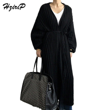 Buy HziriP Sweater Long knitted Cardigans Women Casual Sleeve 2018 Spring Autumn Ladies Clothing Open Stitch Female Fashion Sweaters for $27.29 in AliExpress store