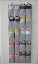 Over the Door hanging storage bag shoe organizer with 20 compartments, Free shipping, low price(China)