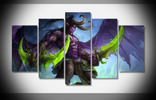 World Of Warcraft Illidan Stormrage Art Devil Game Character WallpapersByte paintings household products cuadros decoracion