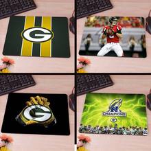 MaiYaCa Green Bay Packers wallpaper Anti-Slip Rectangle Mouse Pad Customized Supported 220mmx180mmx2mm(China)