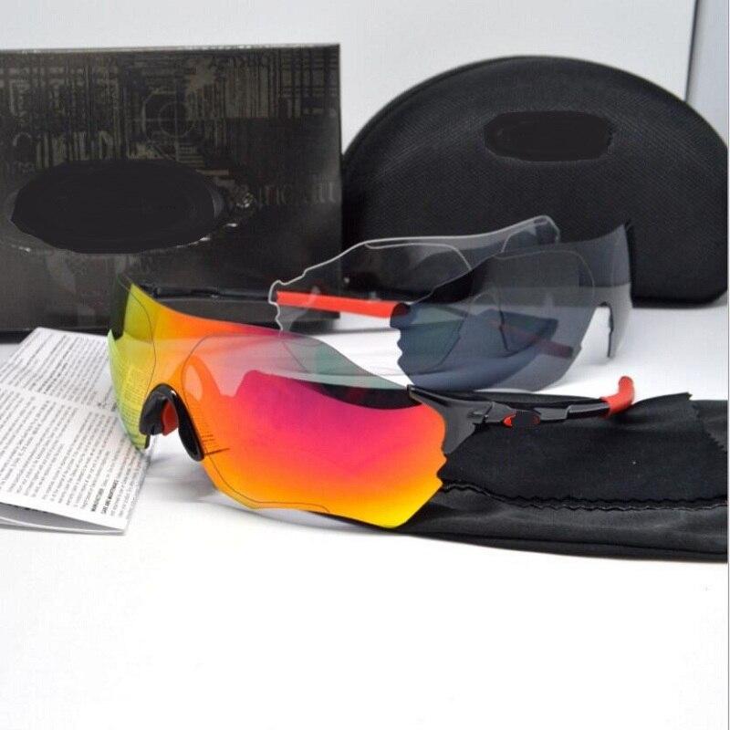 3 Lens Polarized cycling sunglasses men&amp;women Sports running fishing bicycle glasses MTB goggles cycling eyewear fietsbril<br><br>Aliexpress