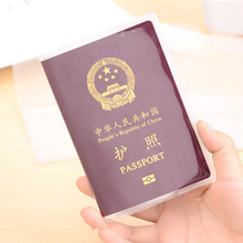 High Quality transparent waterproof dirt ID Card holders passport cover business card credit card bank card holders Storage Bags(China)