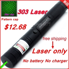 [ReadStar]RedStar 303 Green Red High 1W Laser pointer laser pen burn match with star pattern cap laser only without battery