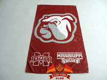 College Mississippi State University Bulldogs Baseball NCAA Flag Tailgating Large Outdoor NCAA 3ft x 5ft   Custom flag