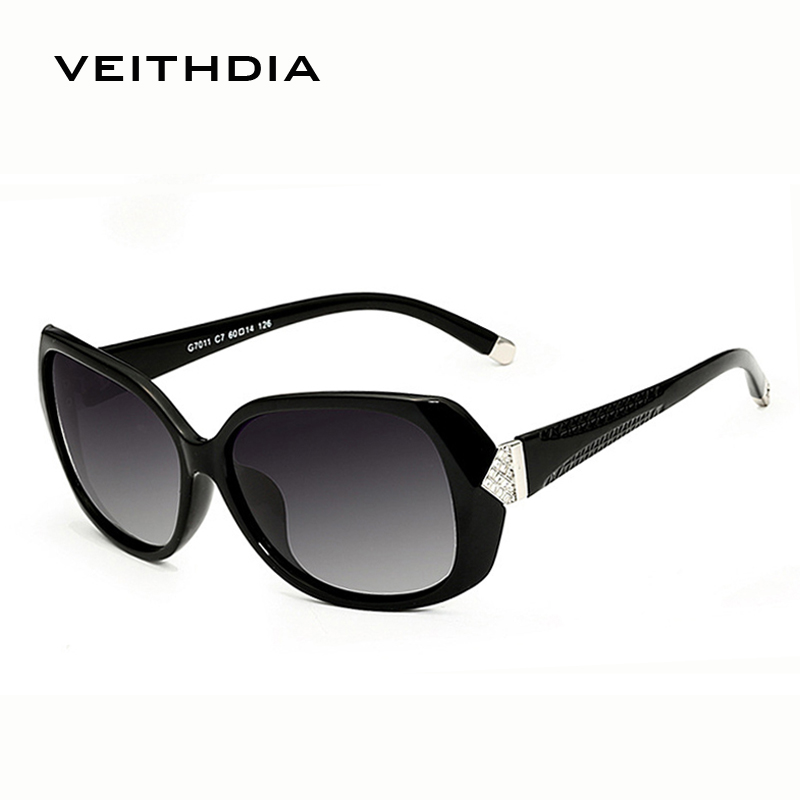 2016 New VEITHDIA Fashion Sunglasses Women  Brand Designer Polarized Lens Sun Glasses Ladies Vintage oculos de sol feminino 7011<br><br>Aliexpress