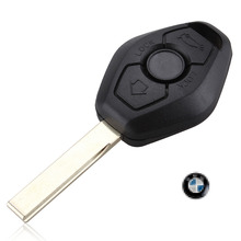 2015 New Black Replacement Keyless Entry Remote Key Fob Shell Case 2 Buttons for BMW Wholesale