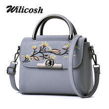 Wilicsoh Women Handbag Special Offer PU Leather bags women messenger bag Splice grafting Vintage Shoulder Crossbody Bags WL577