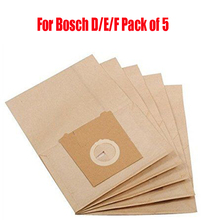 Free shipping 5X Type G vacuum cleaner bags design to fit for BOSCH GL40 VBBS550 VBBS600 VBBS700 VBBS616 BSD2800/05 Sphera28(China)