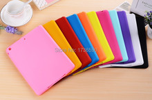 Hot Sale Cute Bean Smart Soft Jelly Sweet Silicone Rubber Protective Case For Ipad 2/3/4