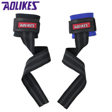 AOIKES 1Pair Fitness Elastic Bandage Hand Wrist Strap Wrap Sport Wristband Support Gym Wrist Protector Carpal Tunnel A-7638(China)