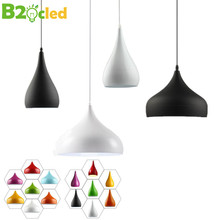 Modern Pendant Lights Two Simple Shapes Various Colors Lamps Restaurants Bedrooms Coffee Shops LivingRoom Lighting E27 Holder
