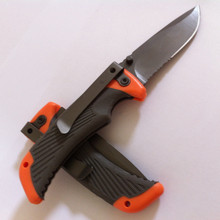 Compact Scout Serrated Folding Knife Outdoor Camping Survival Knife Tactical Pocket EDC Tool With Box and Manual(China)